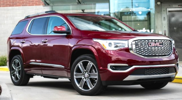 Best 2019 GMC Acadia Price