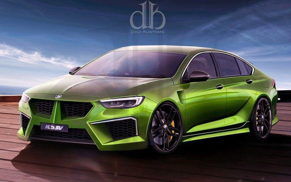 New 2019 Holden Commodore Gts Concept | Cars Studios