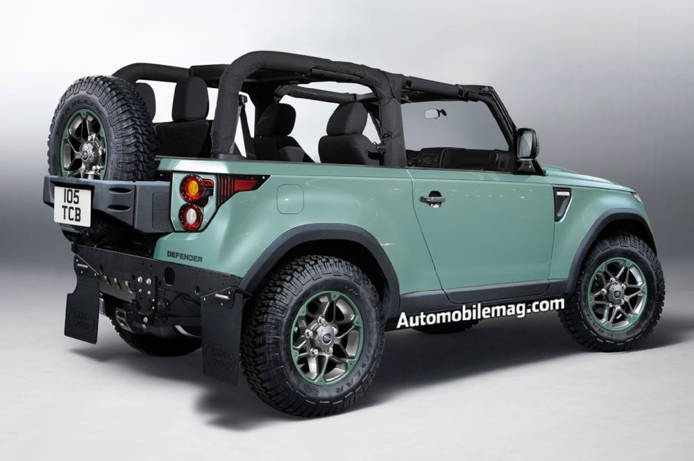 2019 Land Rover Defender Heritage Specs and Review