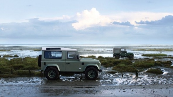 The 2019 Land Rover Defender Heritage New Interior