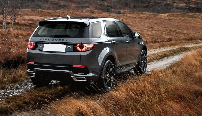 The 2019 Land Rover Discoverys Exterior