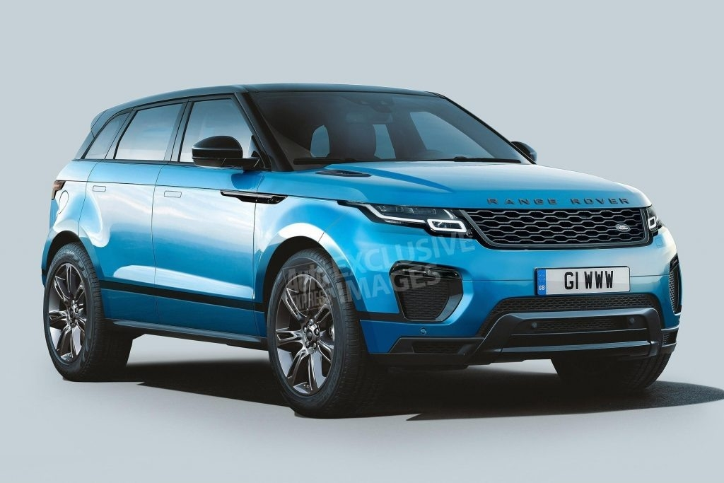 The 2019 Range Rover Evoque Xl Redesign