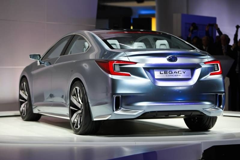 The 2019 Subaru Liberty Concept