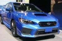 Best 2019 Subaru Wrx 0 60 Redesign and Price