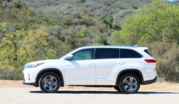 New 2019 Toyota Highlander Hybrid Price