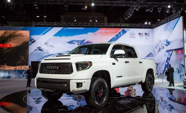 The 2019 Tundra Trd Pro Changes Spy Shoot