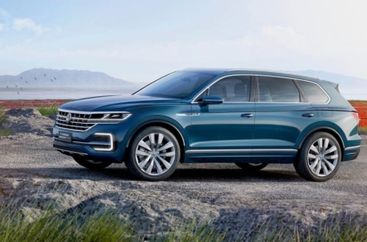 The 2019 Volkswagen Touareg Redesign