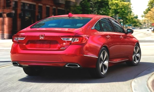 New Accord 2019 Redesign