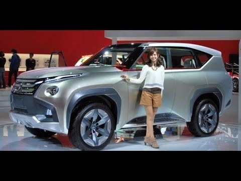 New All Mitsubishi Pajero 2019 Spy Shoot