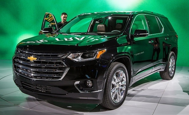 The Chevy Traverse 2019 First Drive