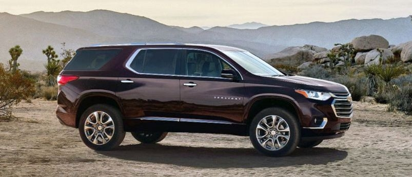 The Chevy Traverse 2019 Concept