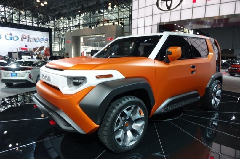 New Fj CRuiser 2019 Exterior
