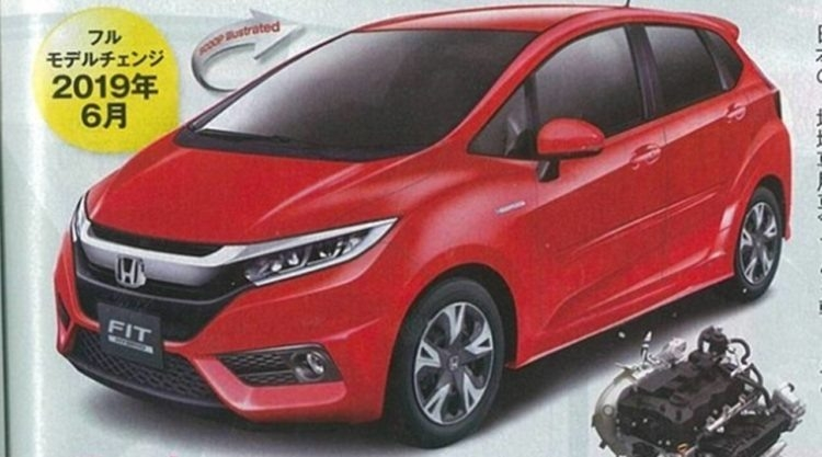 New Honda Fit 2019 New Release