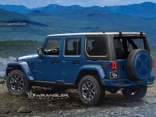 The Jeep 2019 Wrangler Redesign