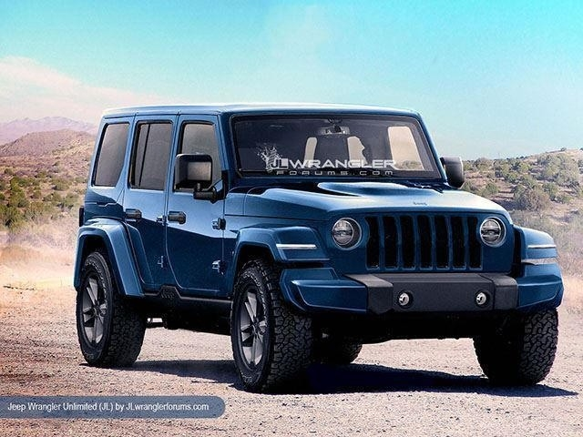Jeep Wrangler Unlimited 2019 Exterior