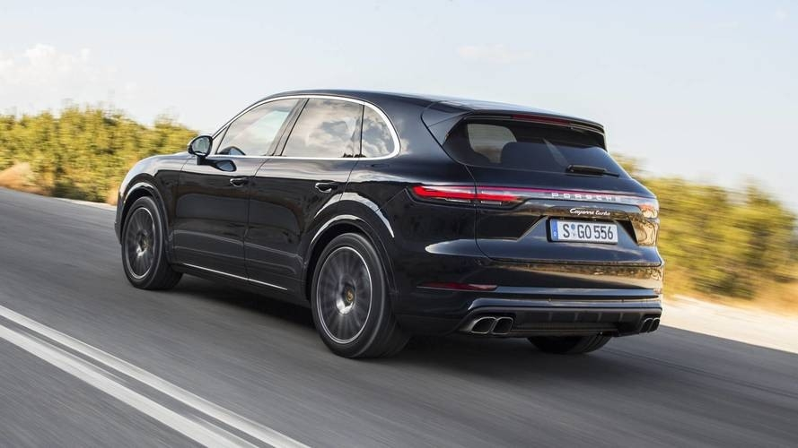 New Porsche Cayenne 2019 Spy Shoot