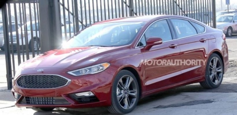 Best Spy Shots 2018 Ford Fusion Price
