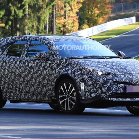 New Spy Shots 2018 Toyota Prius New Release