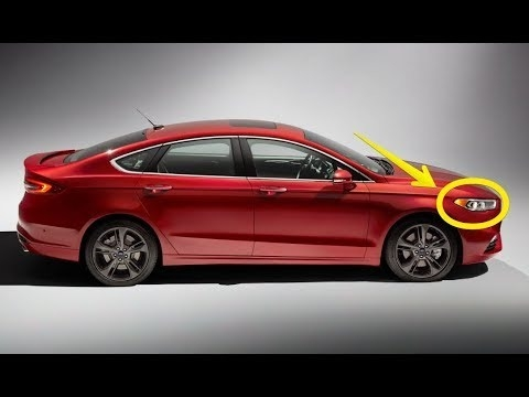 Spy Shots 2019 Ford Fusion First Drive