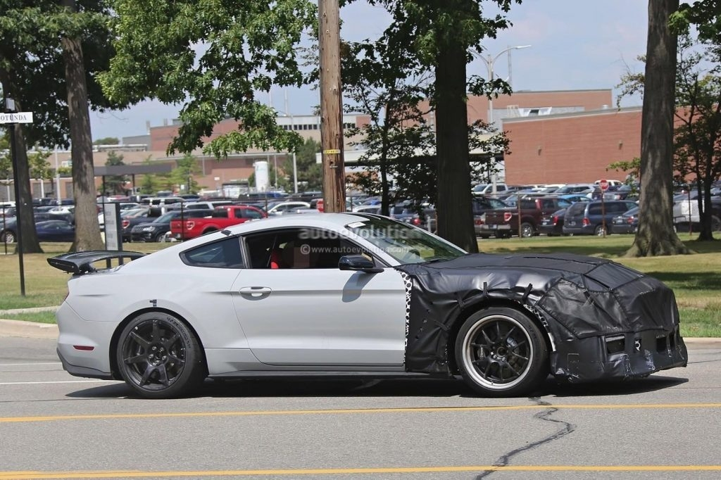New Spy Shots 2019 Ford Mustang Svt Gt 500 Spy Shoot