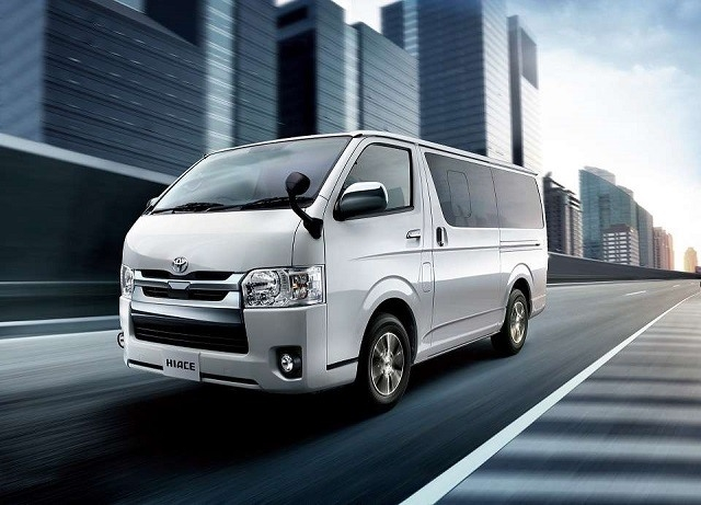 New Toyota Hiace 2019 Spy Shoot