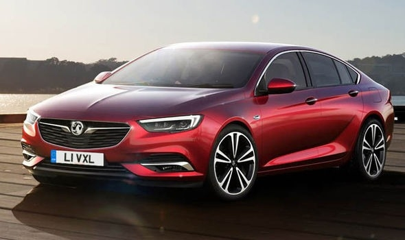 The Opel Insignia 2018 Exterior