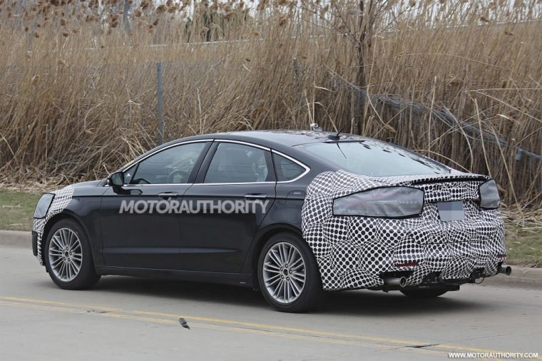 The Spy Shots 2019 Ford Fusion First Drive