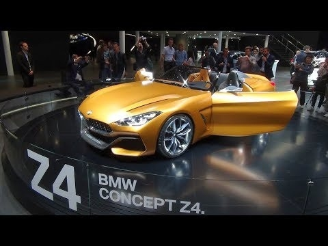 The 2018 BMW Z4 Roadster Spy Shoot