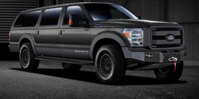 Best 2018 Ford Excursion New Review