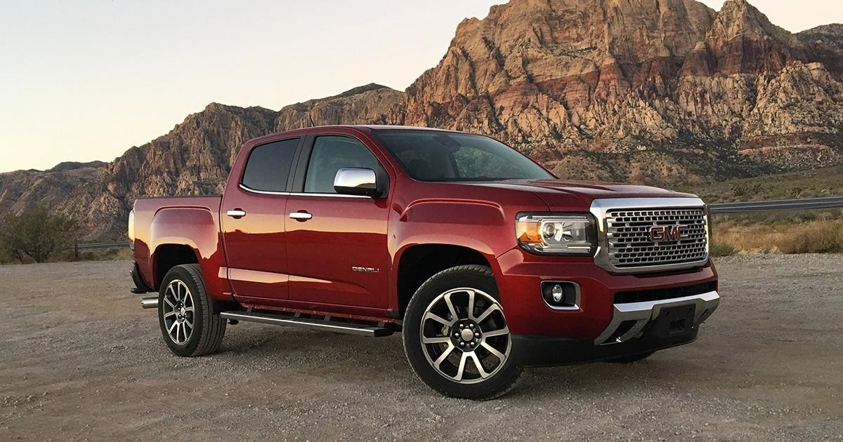 2018 GMC Canyon Denali Review and Specs