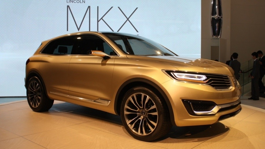 2018 Lincoln Mkx At Beijing Motor Show Picture