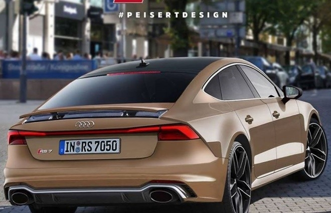 New 2019 Audi Rs7 Exterior