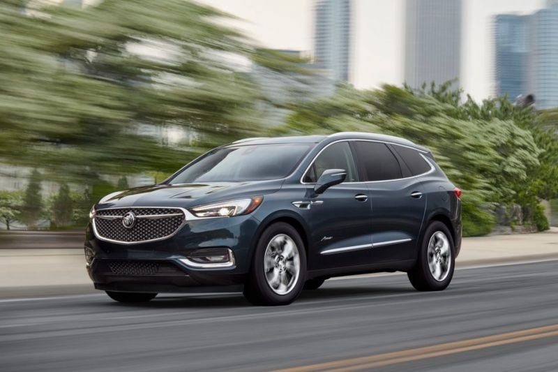 New 2019 Buick Enclave Spy Photos Redesign