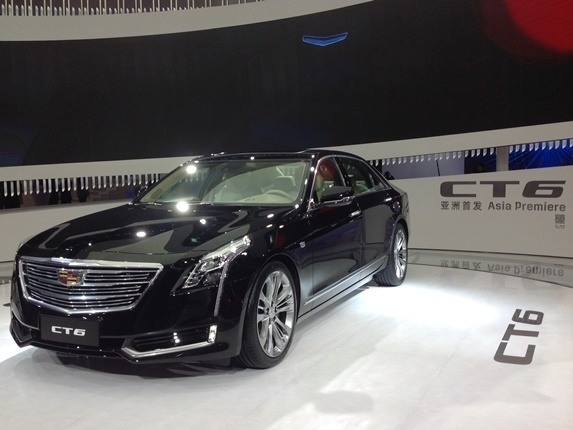 The 2019 Cadillac Ct6 Phev Debuts In Shanghaiis U S Bound Exterior