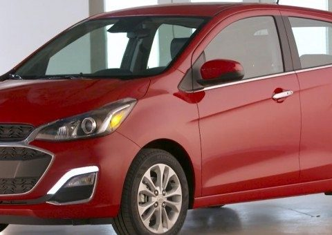 The 2019 Chevy Spark First Drive