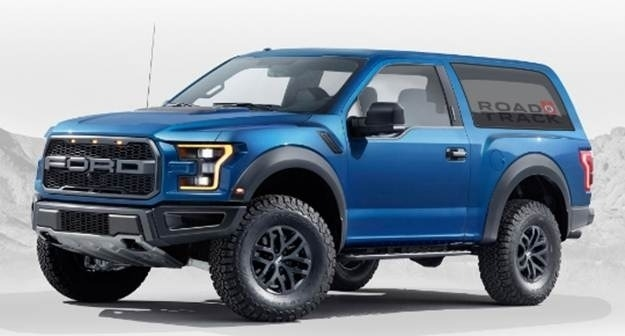The 2019 Ford Bronco Concept Review