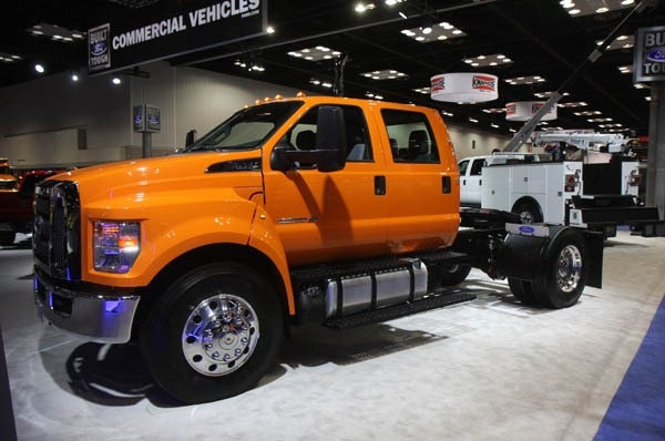 The 2019 Ford F 650 F 750 Exterior