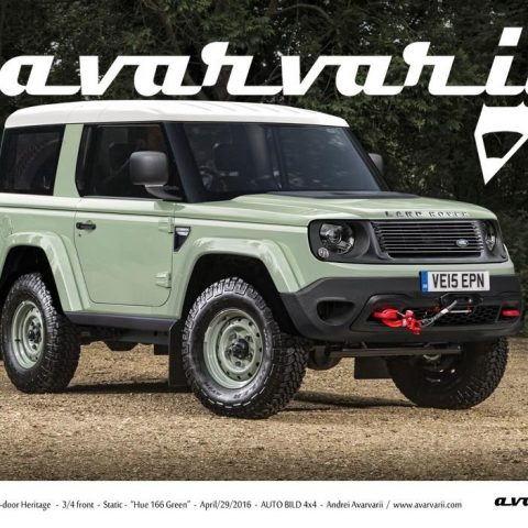 The 2019 Land Rover Defender Heritage Redesign and Price