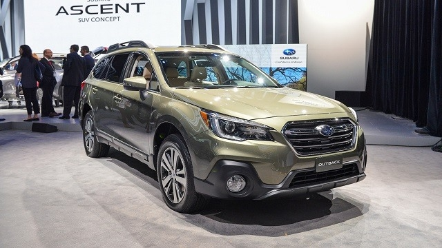 Best 2019 Subaru Outback Spy Shoot
