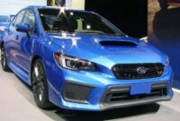 The 2019 Subaru WRX 60 Price