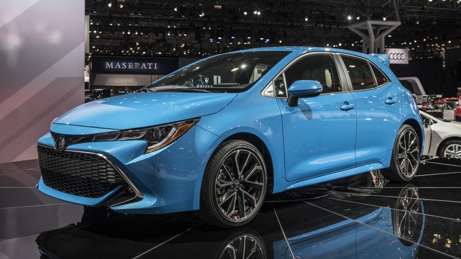 The 2019 Toyota Carolla Exterior
