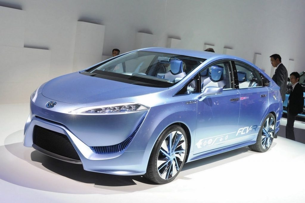 The 2019 Toyota Fcv Exterior