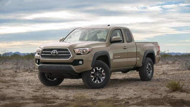 The 2019 Toyota Tacoma Diesel Interior