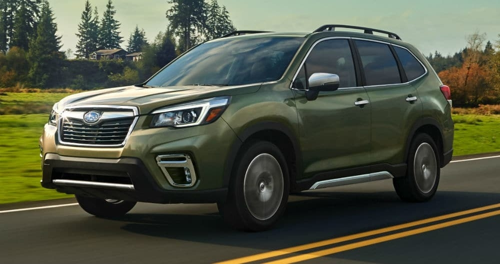 New Forester Subaru 2019 Review
