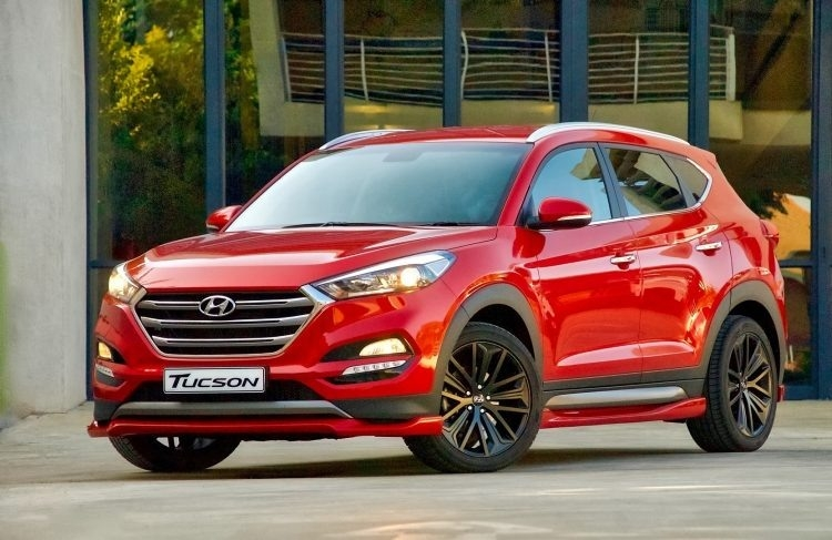 New Hyundai 2019 Tucson Spy Shoot