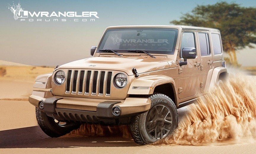 Jeep Wrangler Unlimited 2019 Concept