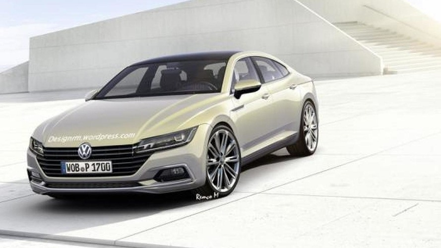 New Next Generation 2018 Volkswagen Cc New Interior