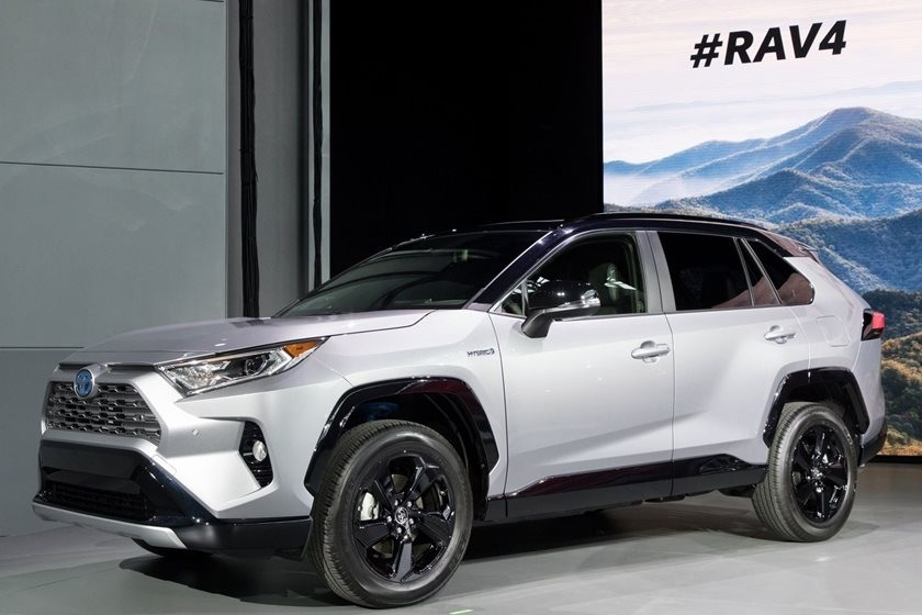 The Rav4 Hybrid 2019 Picture
