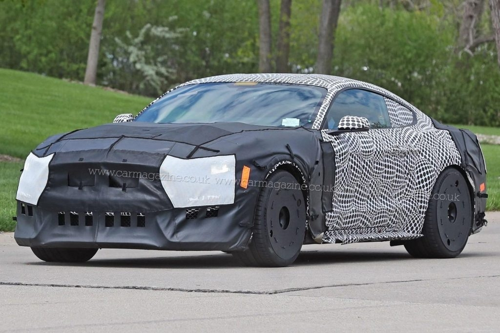 The Spy Shots 2019 Ford Mustang Svt Gt 500 Spy Shoot