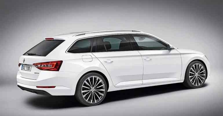 Best Spy Shots 2019 Skoda Superb Redesign